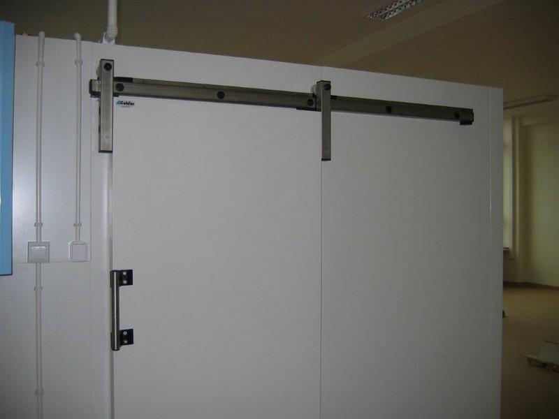 przesuwne drzwi mroźnicze